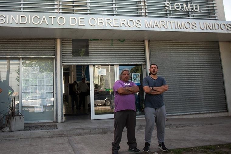 Revista Puerto - Ernesto Basail agresor del reportero grafico de Revista Puerto - 02