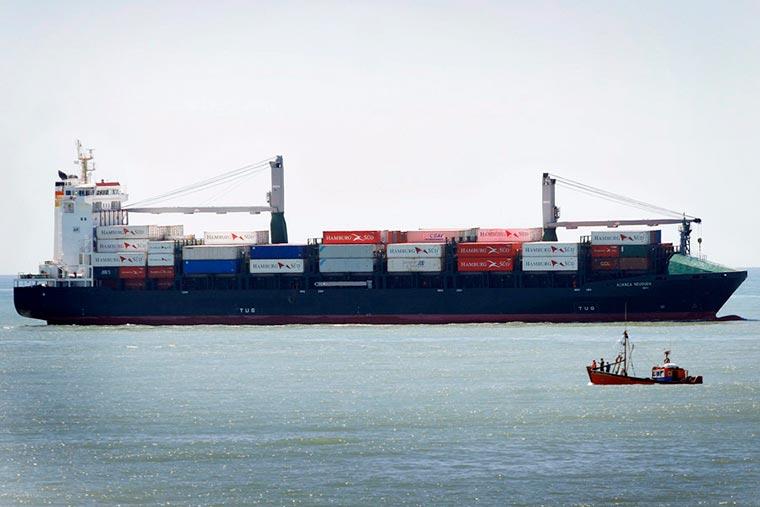 Exportaciones de pescado congelado en el primer trimestre