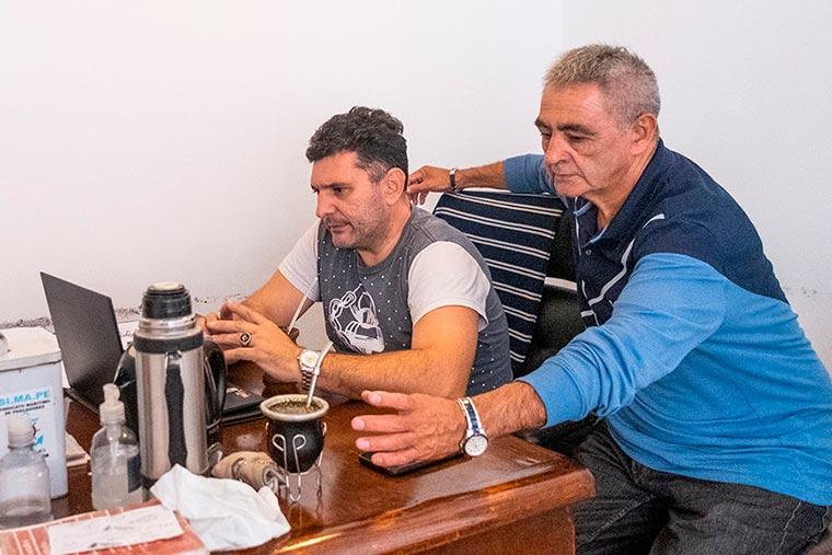 Revista Puerto - Mar del Plata - SIMAPE - Secretario general Pablo Trueba