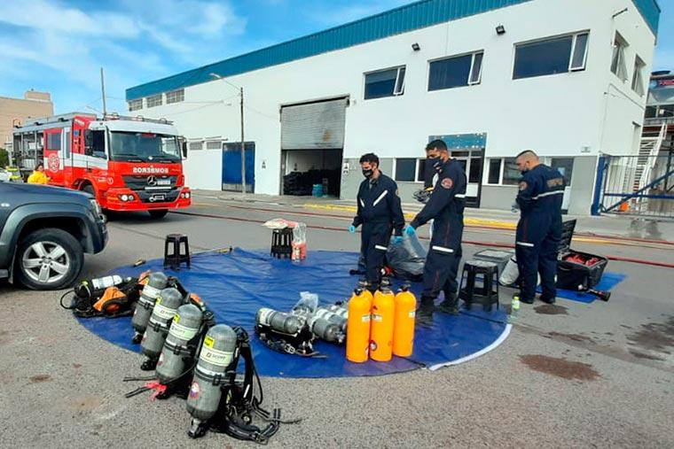 Falla de una válvula provocó fuga de amoníaco en Mirabella