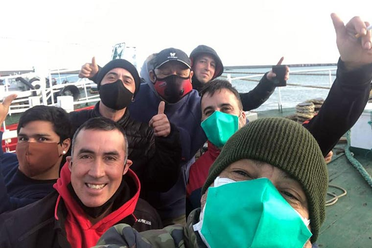 Revista Puerto - Puerto Deseado - Comienza plan de vacunacion a marineros - 02