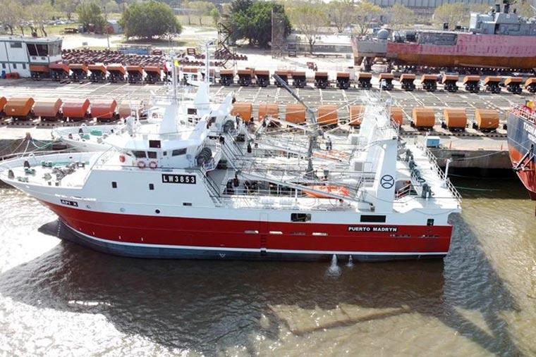 Revista Puerto - Chubut - Iberconsa presento el buque API VIII - 04
