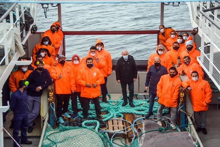 Revista Puerto - Chubut - Iberconsa presento el buque API VIII - 05