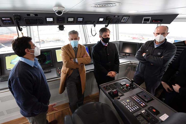 Revista Puerto - Chubut - Iberconsa presento el buque API VIII - 08