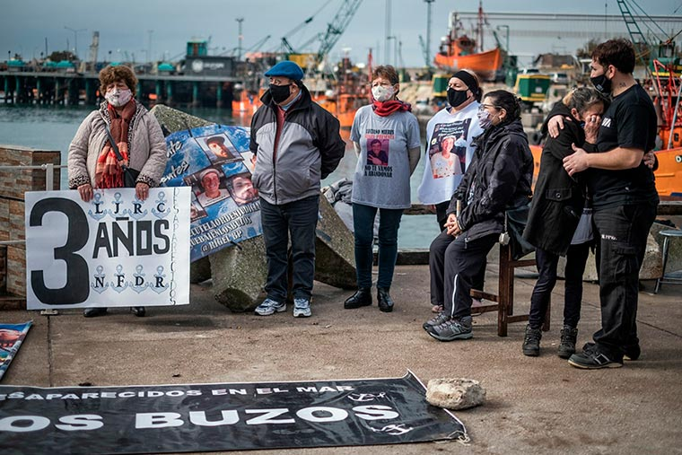 Revista Puerto - Mar del Plata - Tercer aniversario del hundimiento del pesquero Rigel - 05