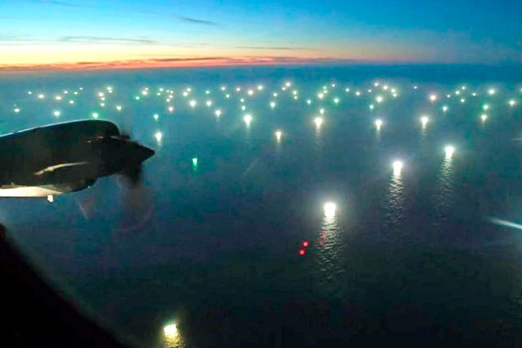 """""""Nuestros océanos necesitan protección, no la pesca imprudente de China"""""""