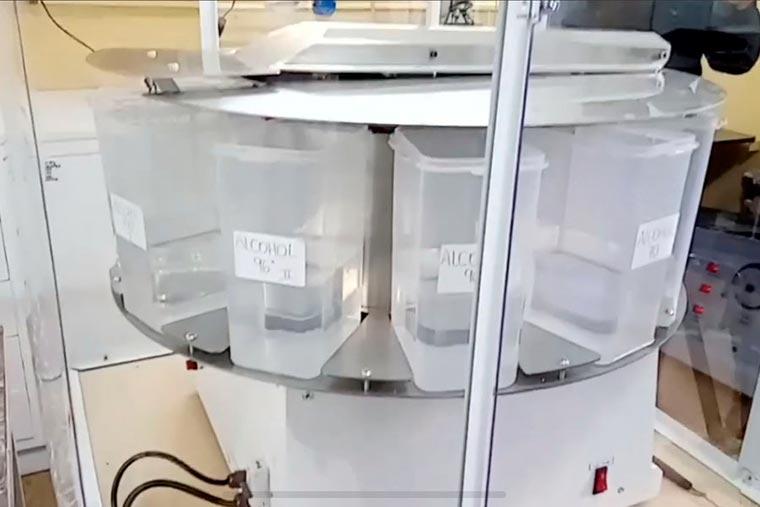 Revista Puerto - Chubut - CAFACh dona equipamiento al hospital de Rawson - 02