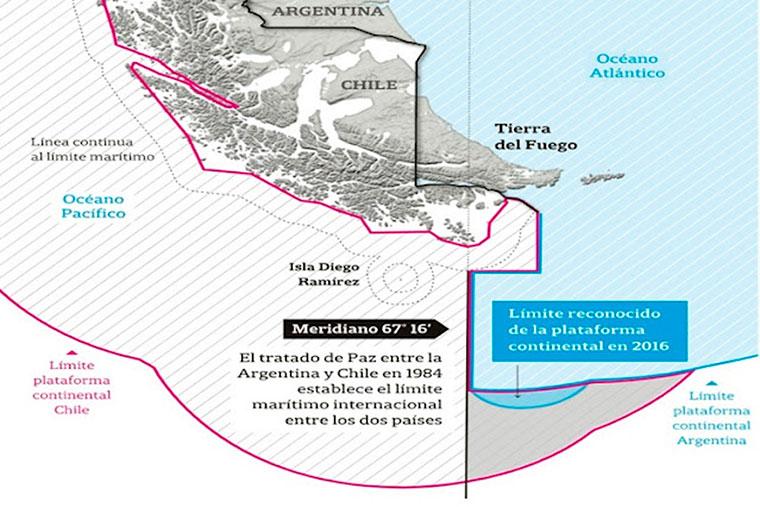 Revista Puerto - Reclamo argentino por nueva cartografia chilena - 03
