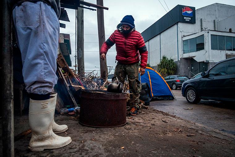 Revista Puerto - Mar del Plata - Protesta en Muzio Hnos - 02