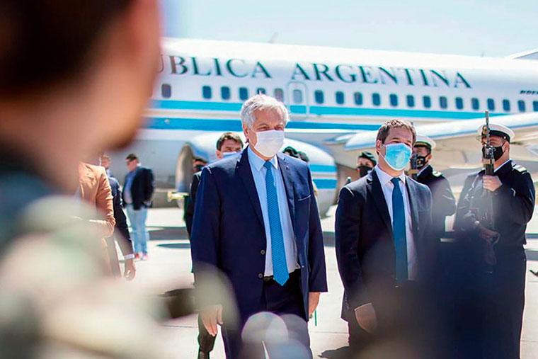 Alberto Fernández anunció inversiones en infraestructura portuaria para Chubut